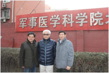 寻访团丁彦青教授、丁华野教授、卞修武教授