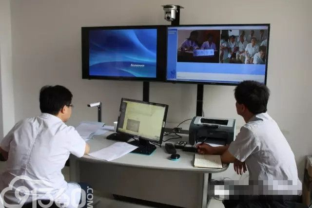 合阳县中医医院与北京几家大医院开通病理远程会诊系统